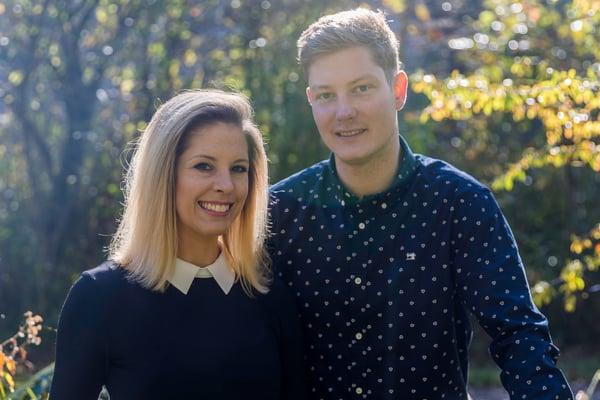 Jacqueline Hafner, directrice de l'hôtel-restaurant, et André Keller, chef de cuisine. Photo: Ella Leuenberger