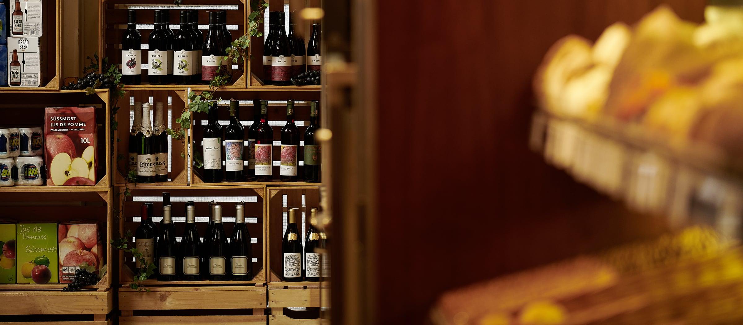 Wein in Baeckereien Betrieb Voland