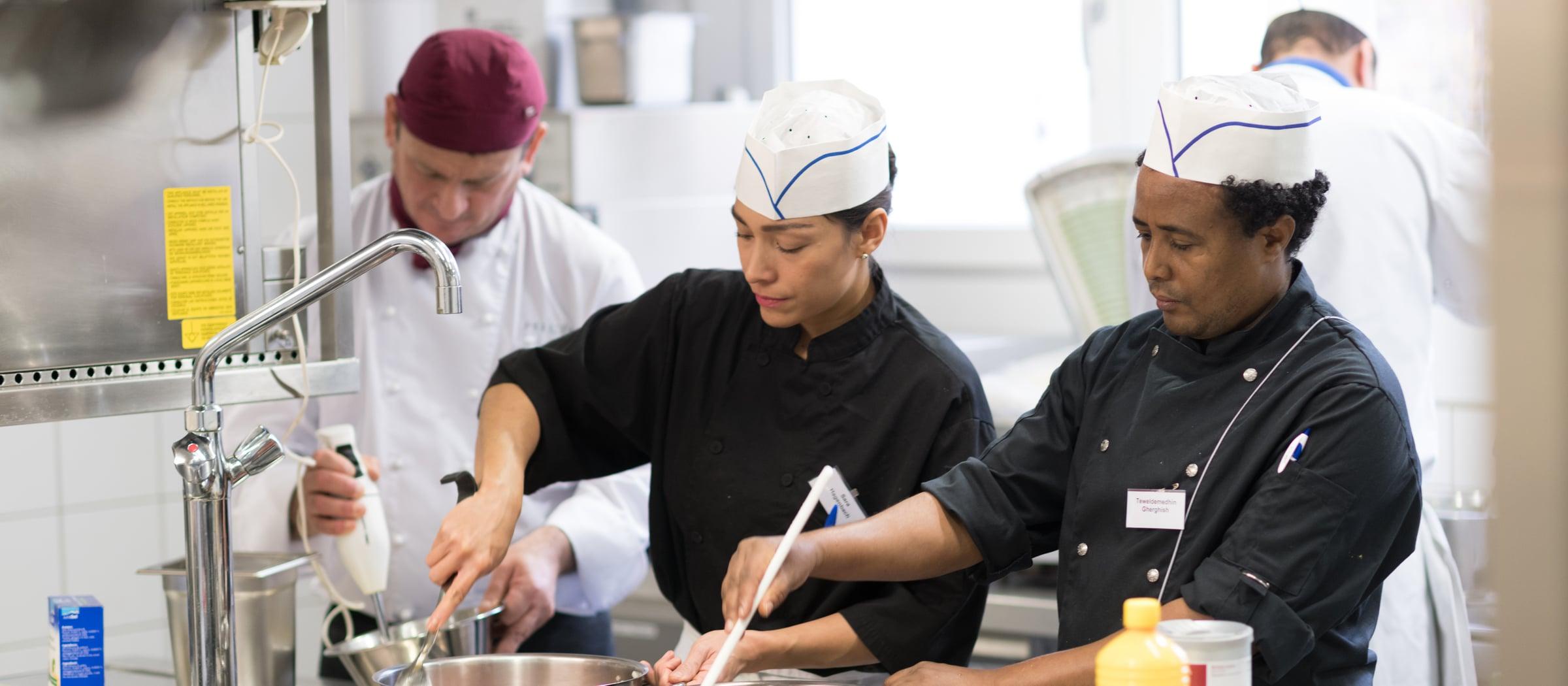 Pistor Inspiration Flüchtlinge in der Gastronomie nicht immer willkommen aber höchst wertvoll Muggenbuehl Riesco 60
