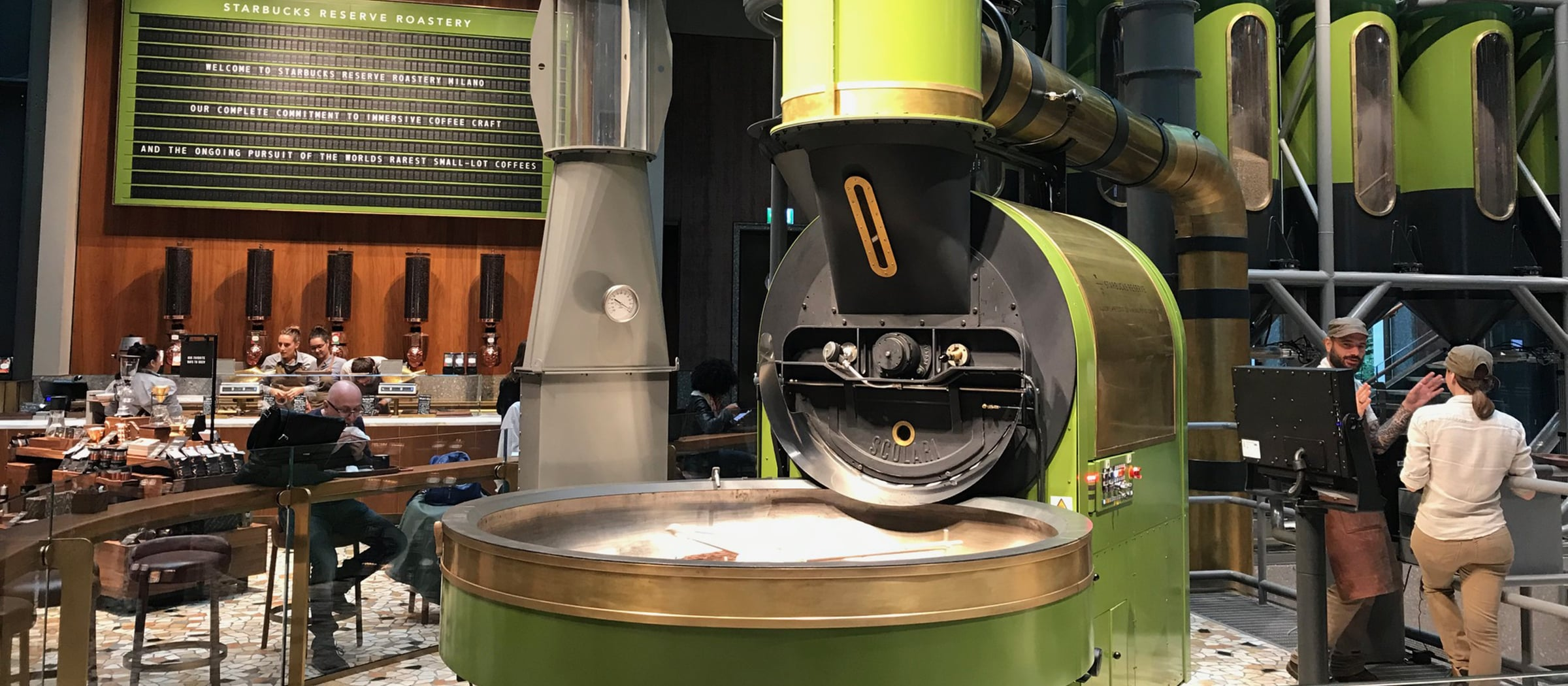 Pistor Inpiration Starbucks Italien Mailand Kaffee Maschine
