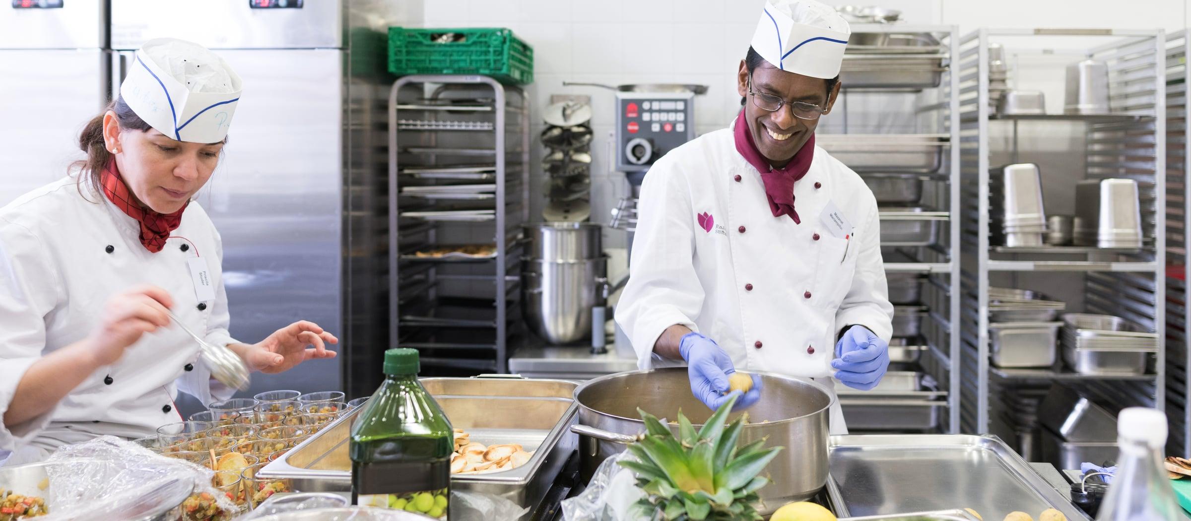 Pistor Inspiration Flüchtlinge in der Gastronomie nicht immer willkommen aber höchst wertvoll Muggenbuehl Riesco 91