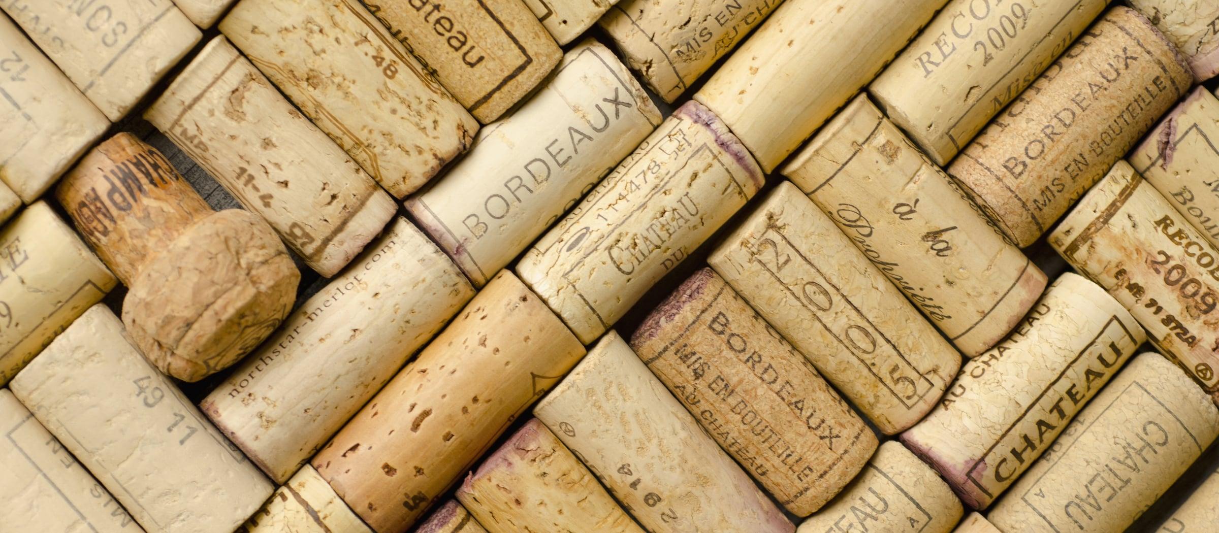 Wein Korken Pistor Sortiment