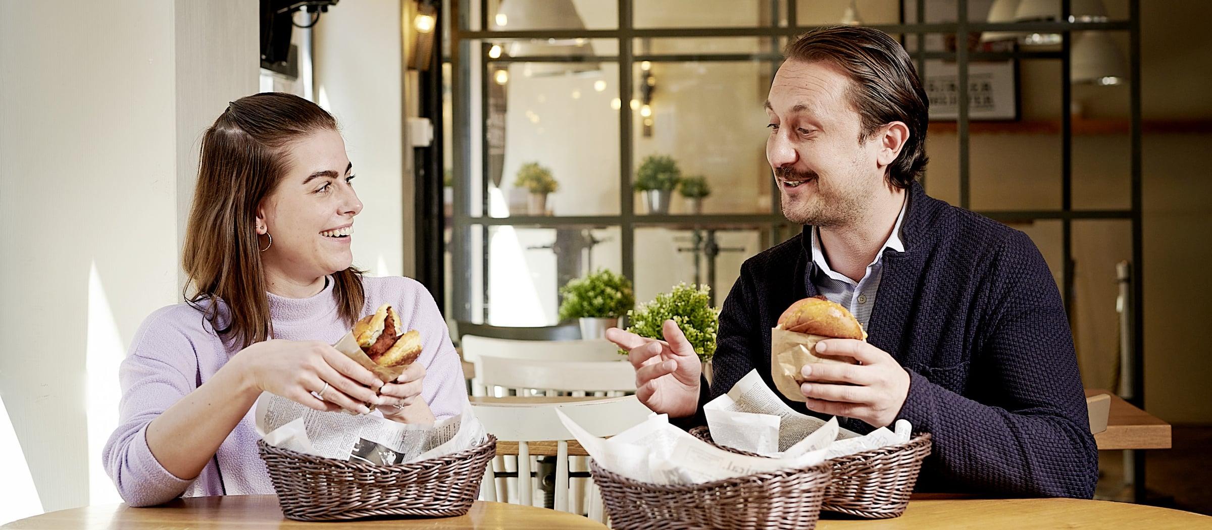 Burgermeister Oberdorf Burger essen