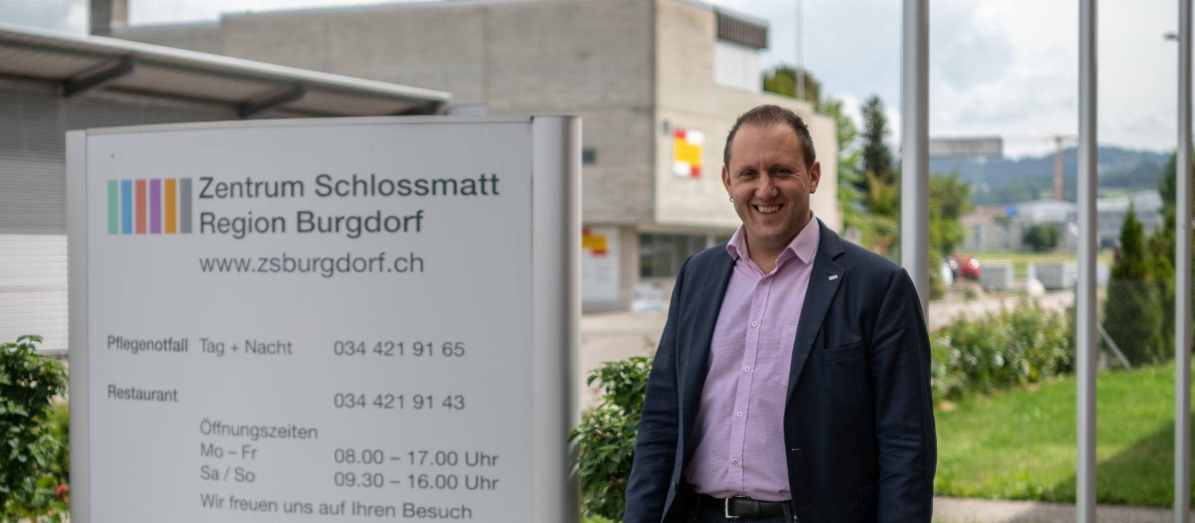 Inspiration Pistor Schlossmatt Reto Zuberbühler Pflegezentrum