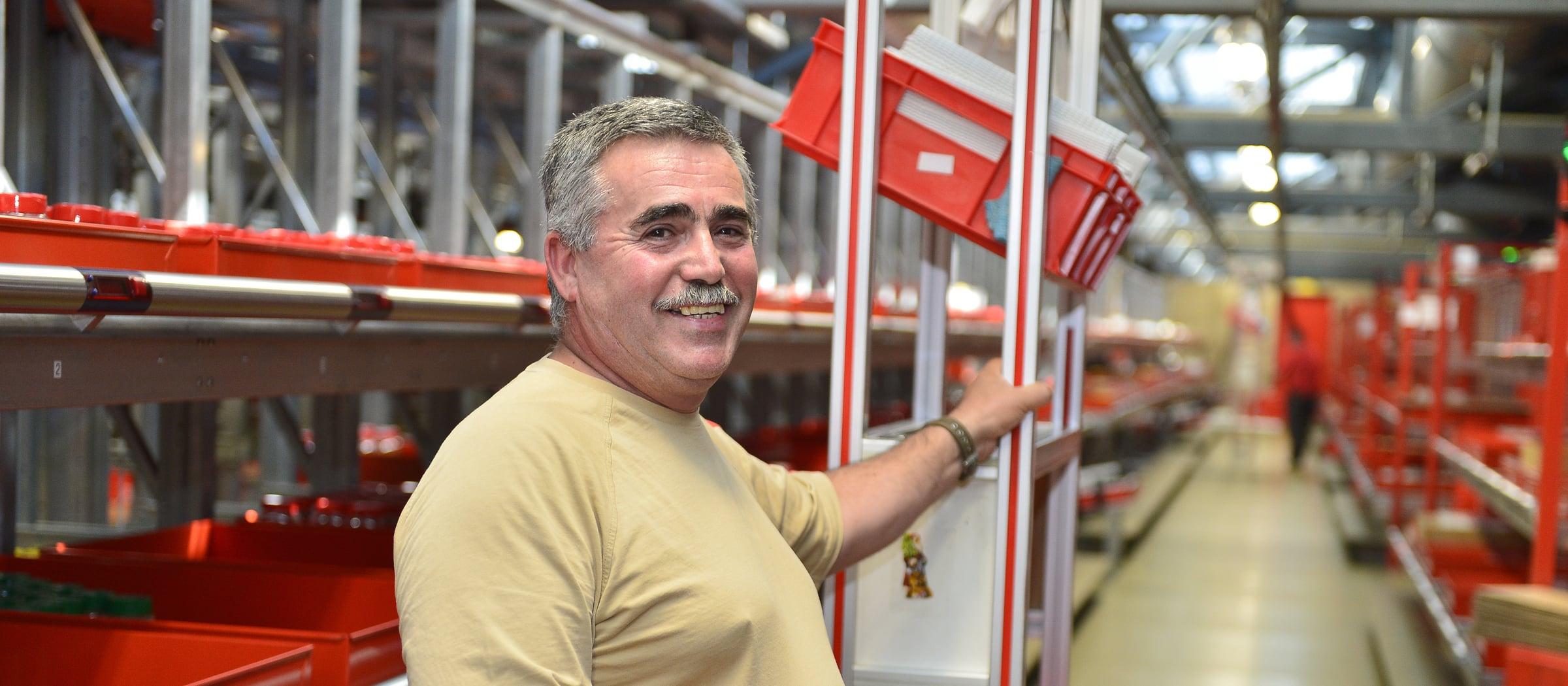 Arbeiten bei Pistor Arbeitsplaetze Warenumschlagszentrum