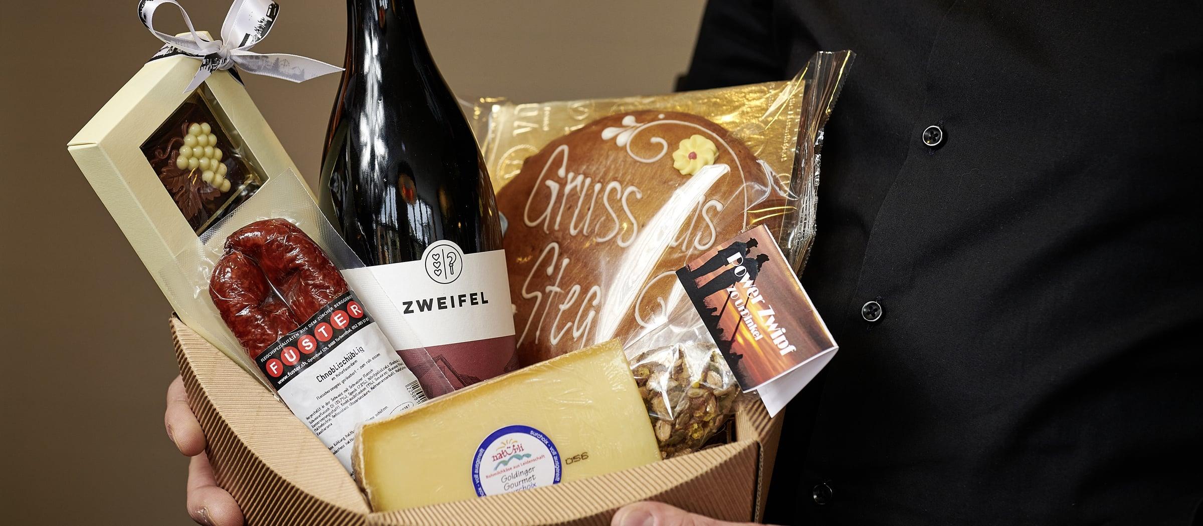 Wein bei Baeckerei Voland Baumerfladen Pistor Inspiration