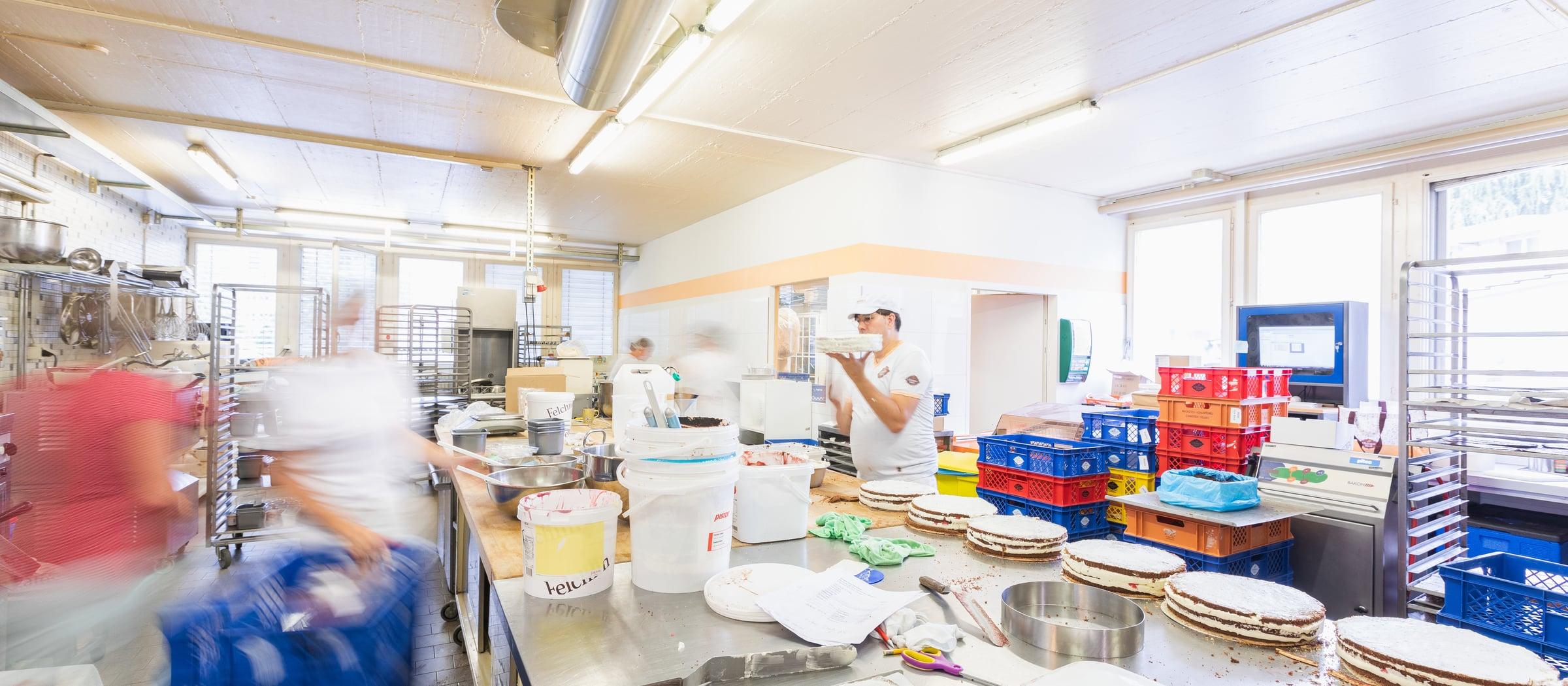Pistor Inspiration Reportage Christen Beck Zum Beck Stansstad Bäckerei Produktion