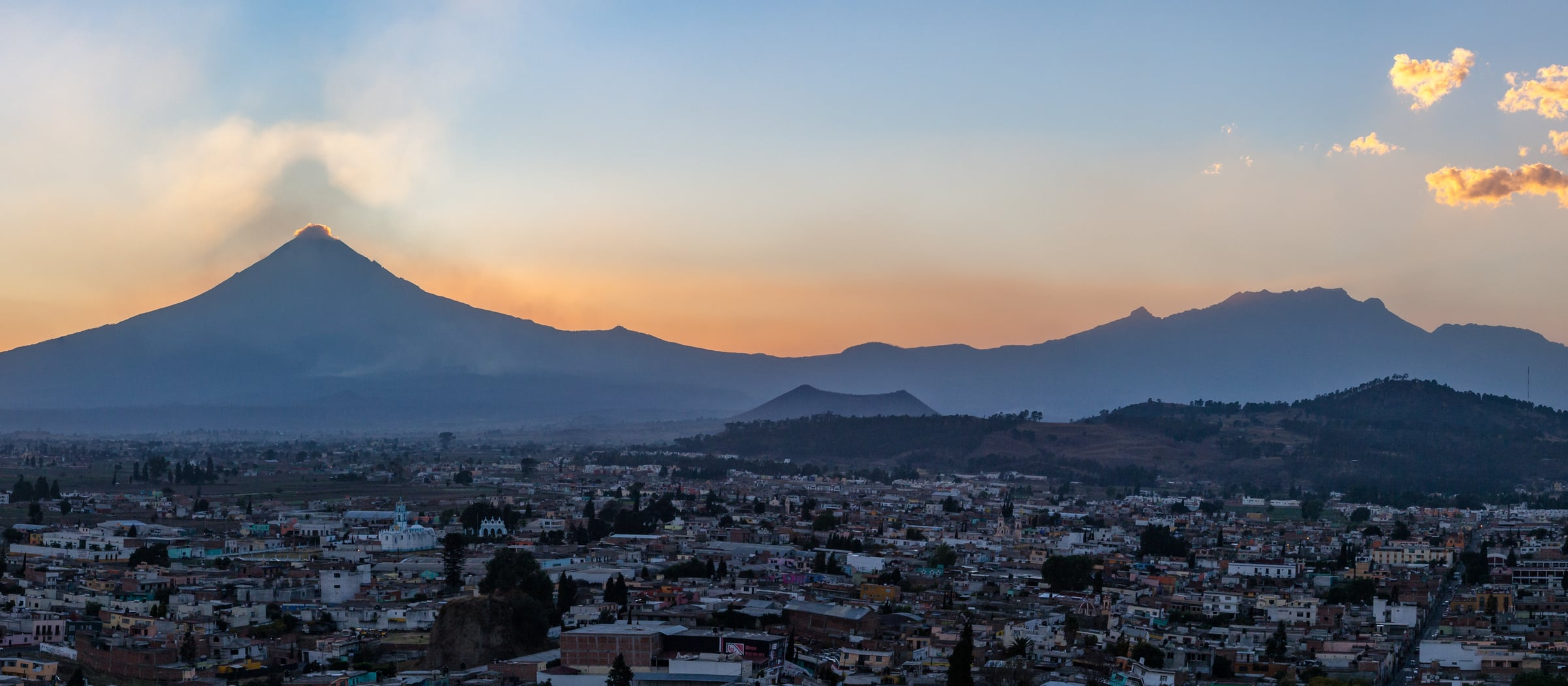 Pistor Inspiration Mexiko Frühstück Vulkan Popocatépetl